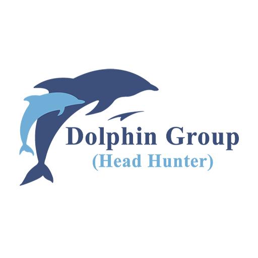 Dolphin-Head-Hunter-Logo